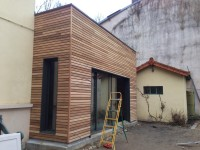Extension ossature bois (Caluire et cuire)